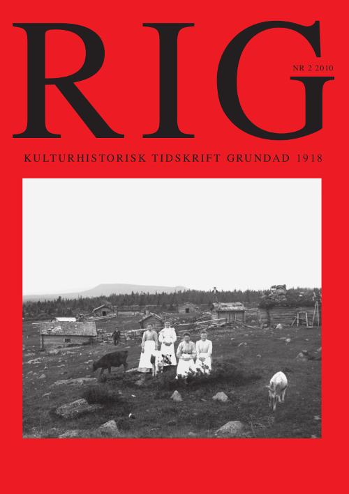 Rig 2010-2
