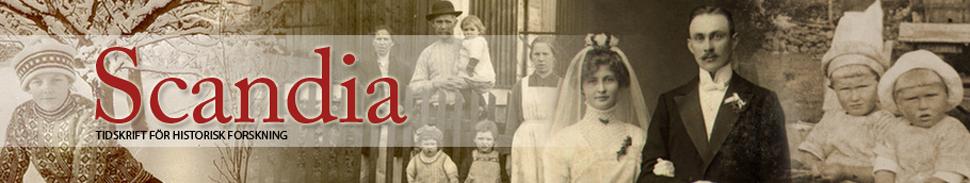 Scandia - Tidskrift för historisk forskning