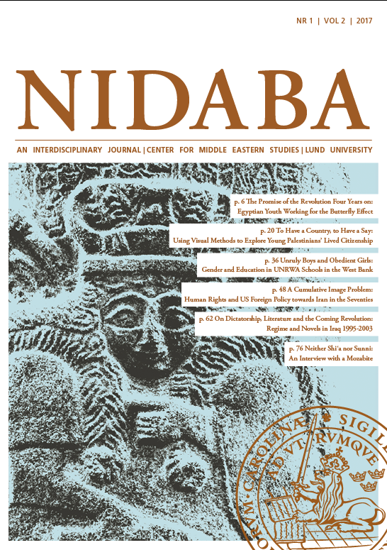 Current Issue of Nidaba