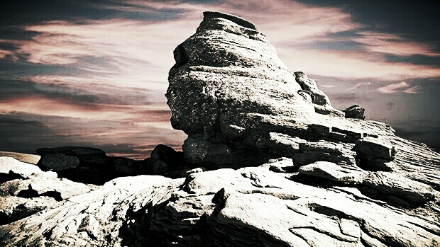 The Sphinx in the Carpathians