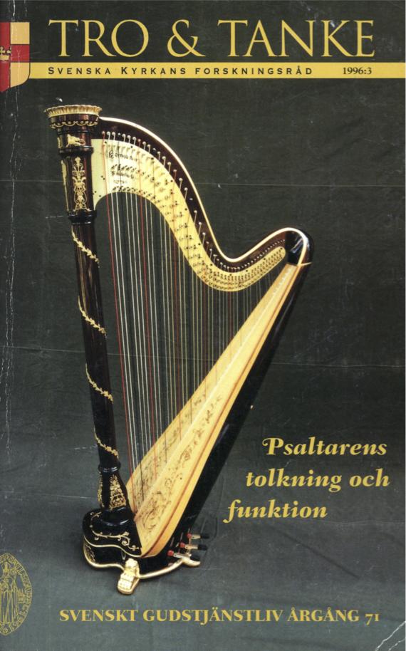 Visa Vol 71 (1996): Psaltarens tolkning och funktion