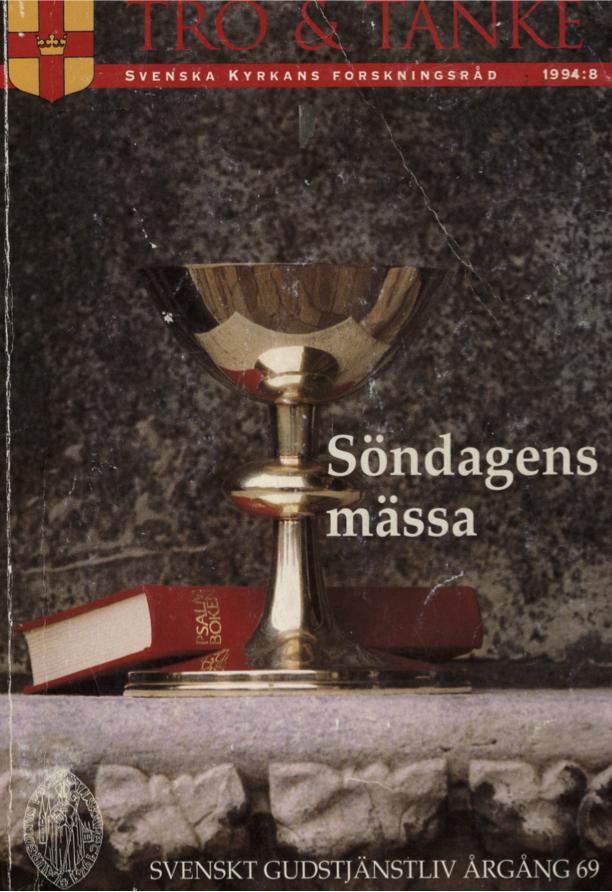 Visa Vol 69 (1994): Söndagens mässa