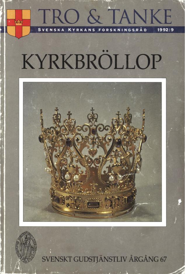 Visa Vol 67 (1992): Kyrkbröllop