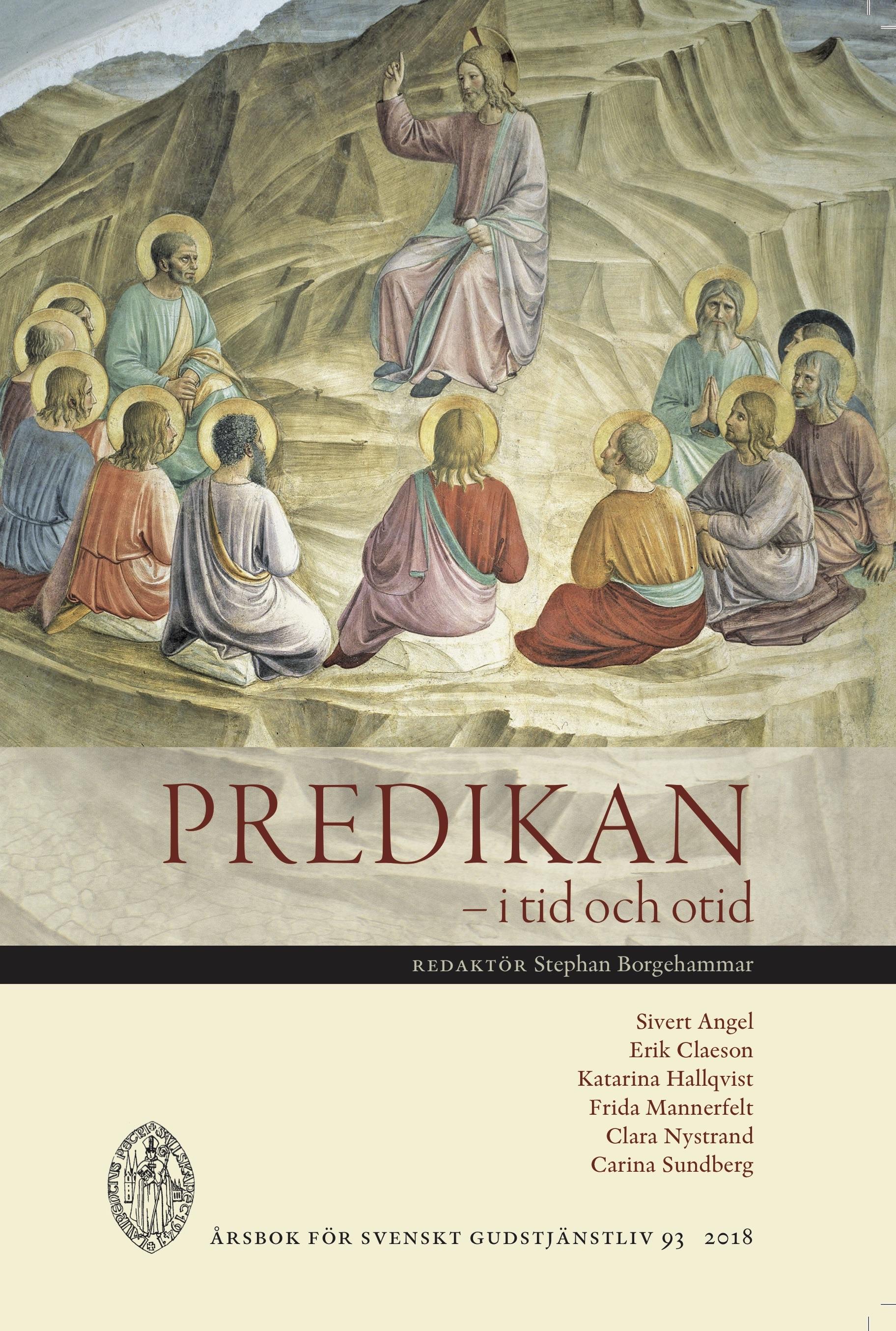 Visa Vol 93 (2018): Predikan – i tid och otid