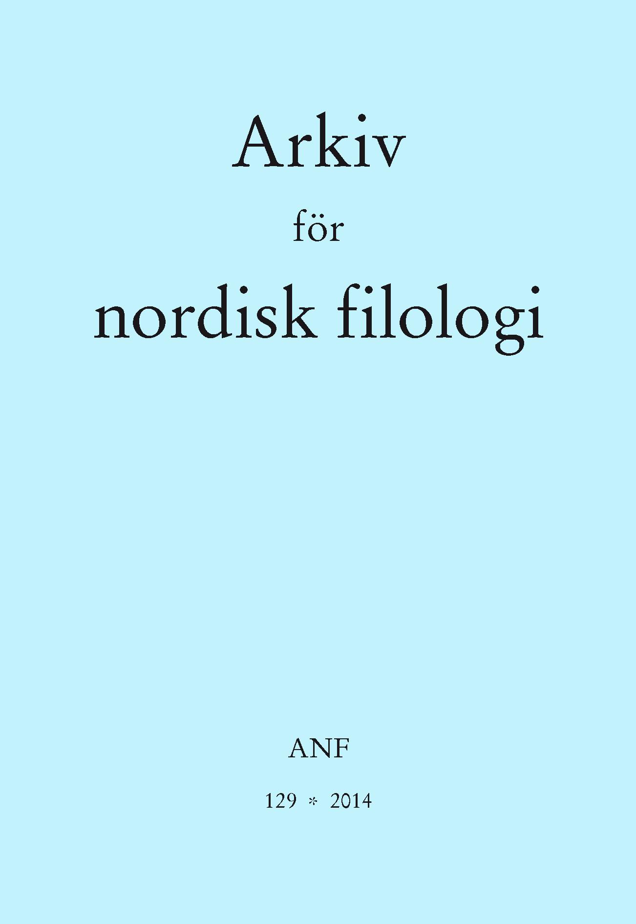 Visa Vol 129 (2014)