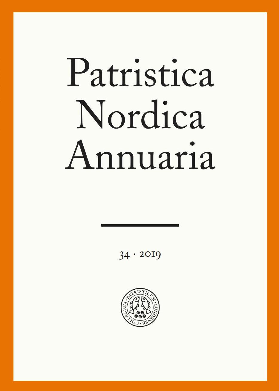 Visa Vol 34 (2019): Patristica Nordica Annuaria