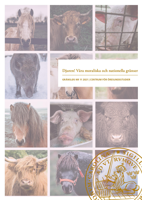 Tidskriftens omslag med ett collage av fotografier där hästar, oxar och grisar tittar in i kameran.