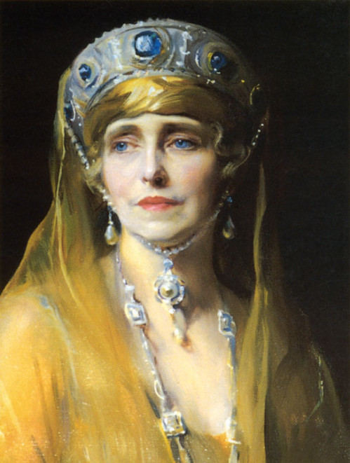 Marie of Romania (portrait by Jacques-Emile Blanche)