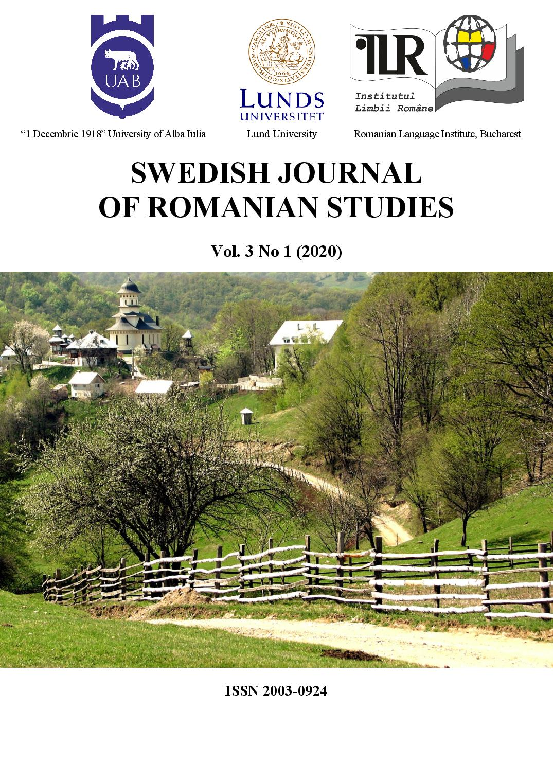 The cover photo was taken on April 15th, 2009 and represents the road to Afteia Monastery, Alba County, Romania