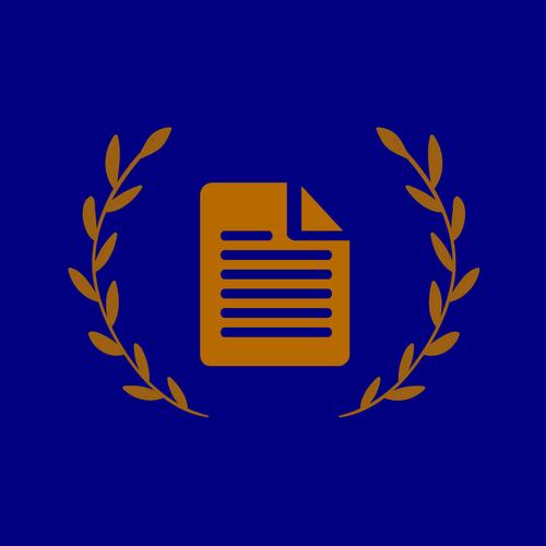 Historisk studenttidsskrift logotyp