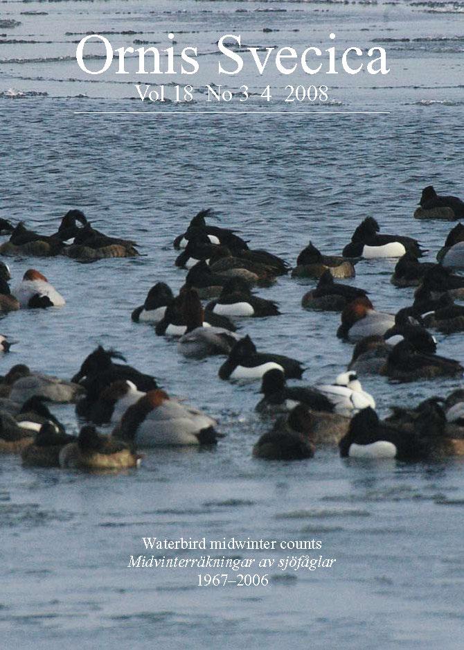 View Vol. 18 No. 3–4 (2008): Waterbird midwinter counts 1967–2006